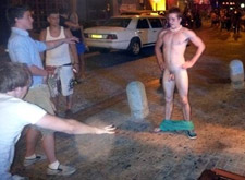 gay naked on the streets gay porn video