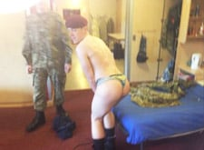 the best amateur gay military porn video