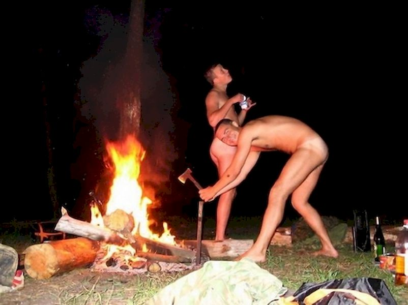 Nude men around camp fire, tumblr twink boy video